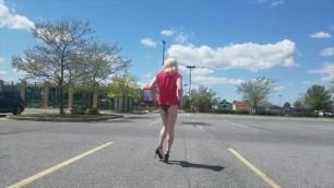 Sissy Denver Visits Walmart