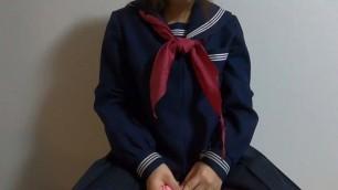 Schooi Uniform Girl Masturbation