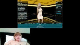 Cute Girl Plays Porn Game Station Master